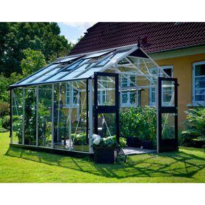 Juliana Serre de jardin 10,9m² aluminium et verre trempé Premium  Juliana - Publicité