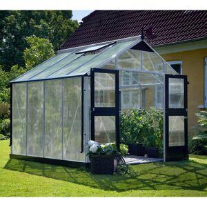 Juliana Serre de jardin 8,8m² aluminium et polycarbonate 10mm Premium Juliana - Publicité