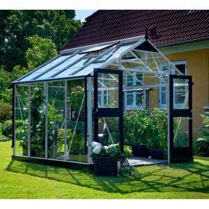 Juliana Serre de jardin 8,8m² aluminium et verre trempé Premium - Juliana - Publicité