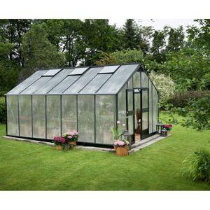 Juliana Serre anthracite 18,8m² en polycarbonate 10mm Gardener - Juliana - Publicité