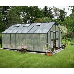 Juliana Serre anthracite 21,4m² en polycarbonate 10mm Gardener - Juliana - Publicité