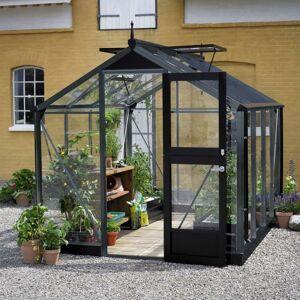 Juliana Serre de jardin 5m² anthracite en verre trempé Compact Nye - Juliana - Publicité