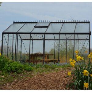 ACD Serre de jardin R205 Prestige Grow 8,61m² en aluminium laqué RAL et verre trempé  ACD - Publicité