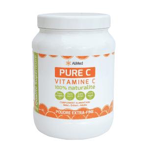Pure Vitamine C en poudre   Pot 1kg