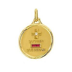 Augis Médaille d'Amour Éternel (Or Jaune)