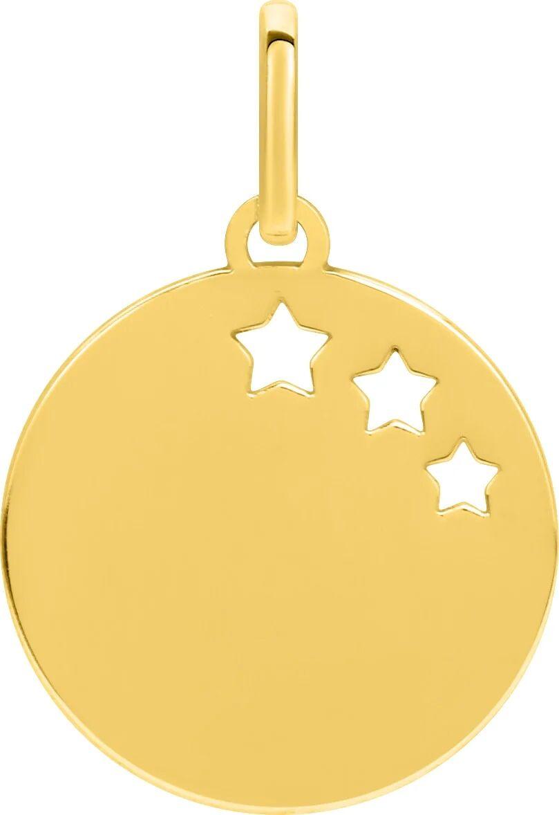 Orféva Médaille Trois Etoiles Or Jaune 9 carats
