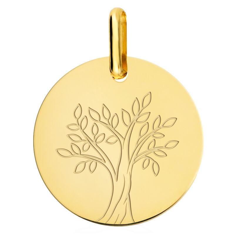 Orféva Medaille arbre de vie en or jaune