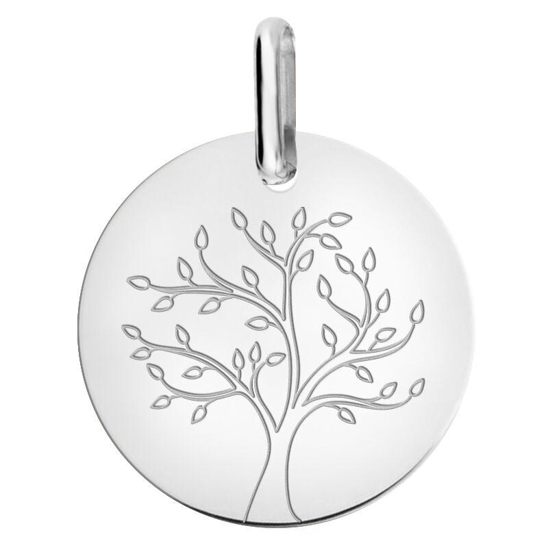 Orféva Medaille arbre de vie stylisé