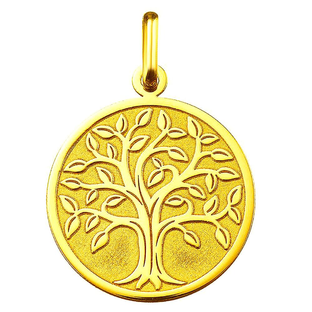 Orféva Médaille arbre de vie or jaune 9 carats