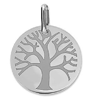 Orféva Médaille Arbre de Vie polie