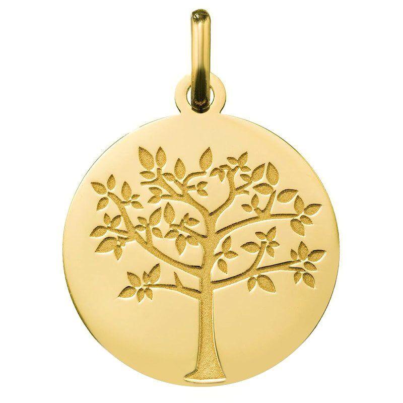 Orféva Médaille arbre de vie printanier (Or Jaune 9K)