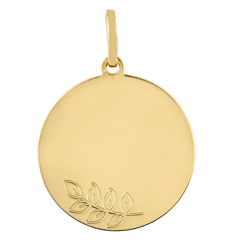 Orféva Médaille Le Rameau d'Olivier (Or Jaune)
