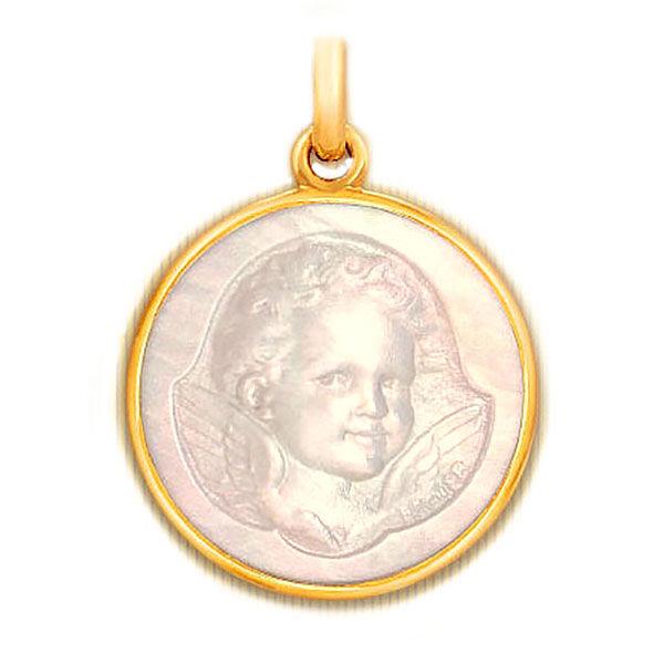 Becker Médaille Becker Ange Espiègle en nacre