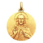 Becker Médaille Becker Christ Sacré Coeur
