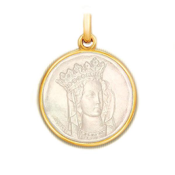 Becker Médaille Becker Notre Dame de Paris en nacre
