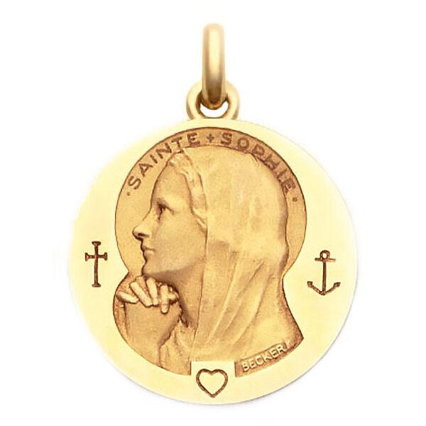Becker Médaille Becker Sainte Sophie