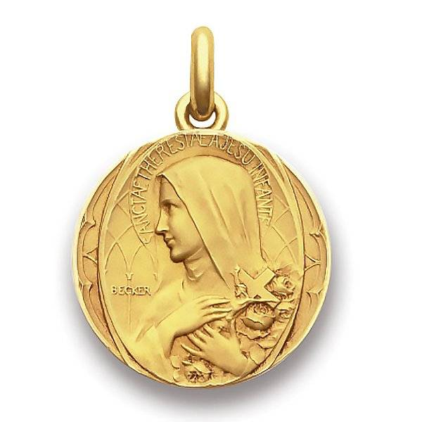 Becker Médaille Becker Sainte Thérèse