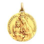 Becker Médaille Becker Vierge Mont Carmel
