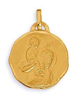 Orféva Médaille Saint Christophe Porteur