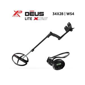 XP Détecteur de Métaux XP DEUS Lite X35 : 34x28-WS4 - Publicité