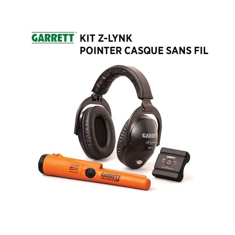 Garrett Détecteur de Métaux GARRETT Z-Lynk : pointer + casque