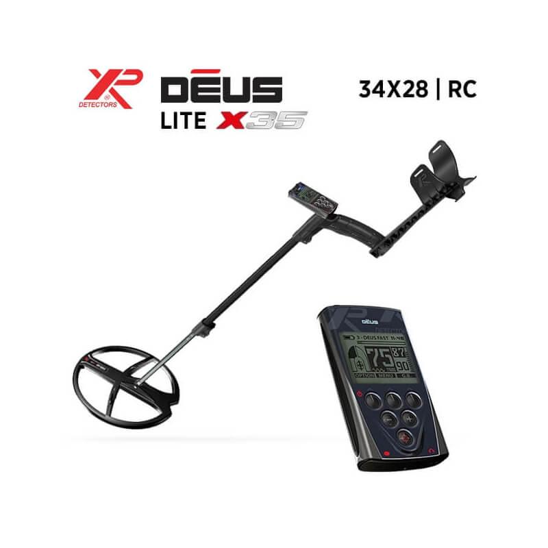 XP Détecteur de Métaux Détecteur XP DEUS Lite X35 : 34x28-RC