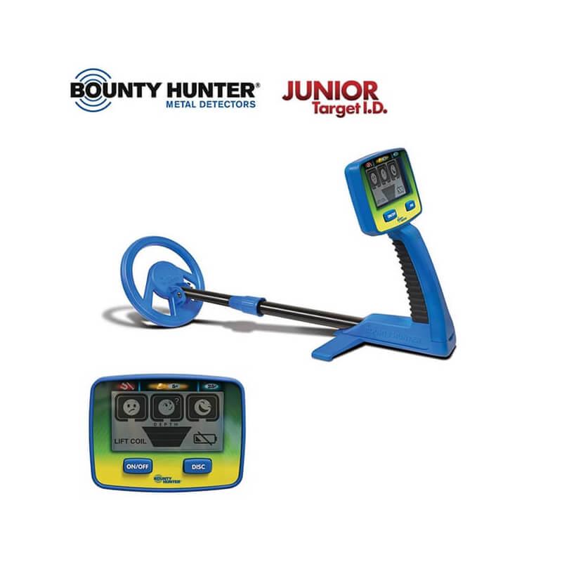 Bounty Hunter Détecteur de Métaux Détecteur Bounty Hunter Junior Target ID