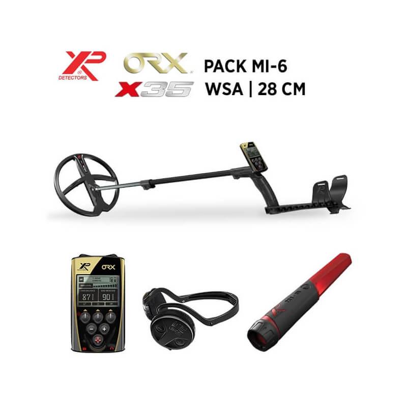 XP Détecteur de Métaux Détecteur XP ORX - 28 X35 WSA - MI-6