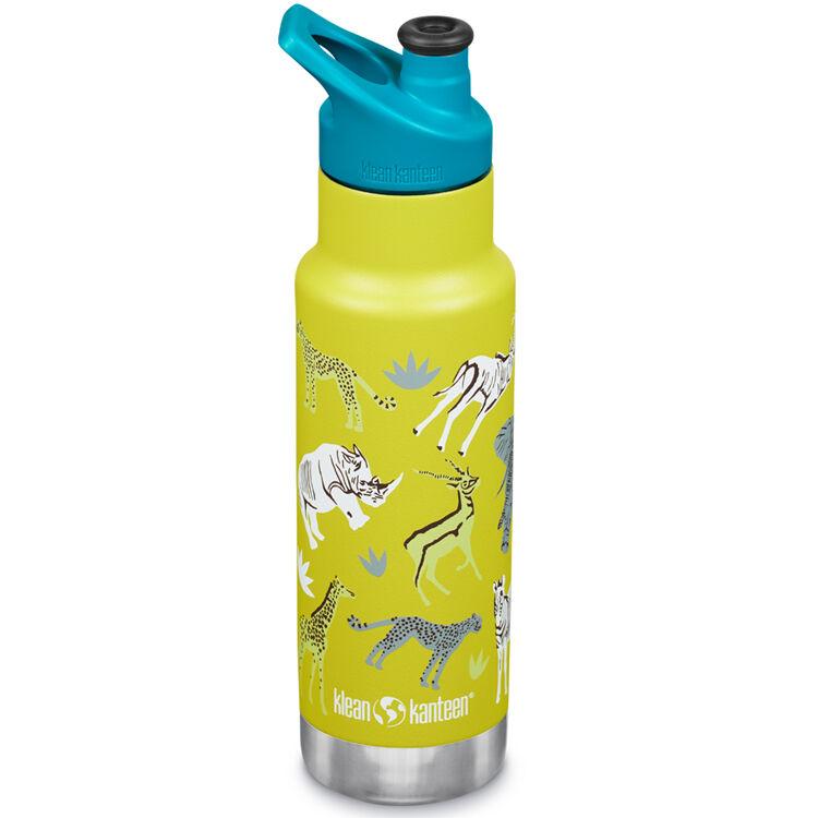 KLEAN KANTEEN Gourde Inox Isotherme 355 ml bouchon Sport Safari - KLEAN KANTEEN