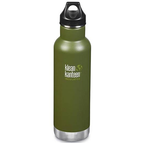 KLEAN KANTEEN Gourde Inox isotherme Fresh Pine bouchon classique (592 ml) - KLEAN KANTEEN