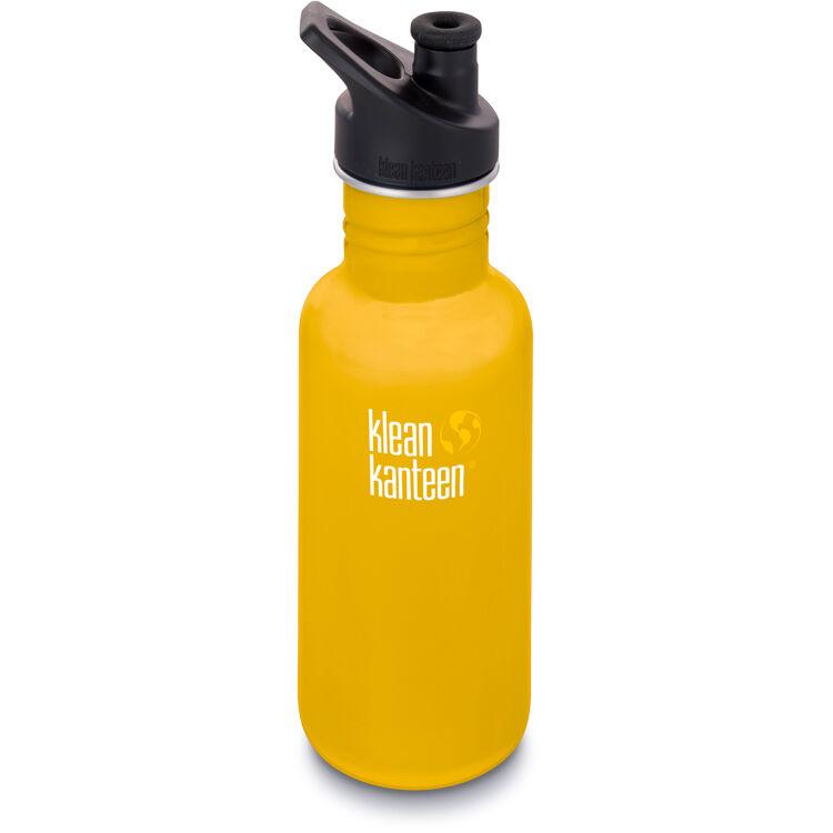KLEAN KANTEEN Gourde Inox Classique 532 ml Lemon Curry bouchon sport - KLEAN KANTEEN