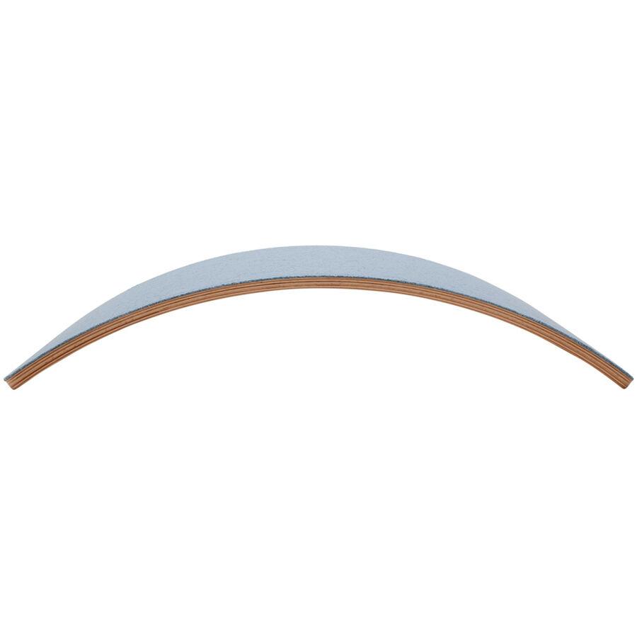 WOBBEL Planche d'équilibre Starter en bois et feutre Bleu - WOBBEL