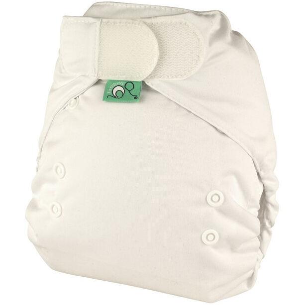 TOTS BOTS Couche lavable TE1 -  EASYFIT - Taille Unique (3.5-15kg) - White - TOTS BOTS
