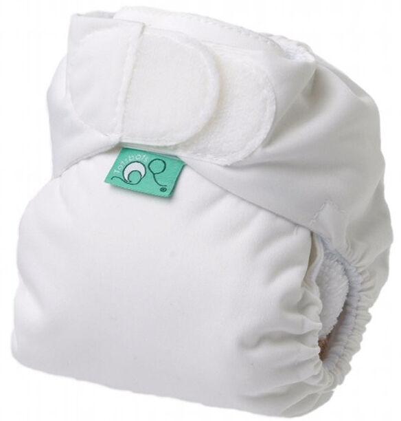 TOTS BOTS Couche lavable TE1 - TEENYFIT - Taille Naissance (2-5kg) - White - TOTS BOTS