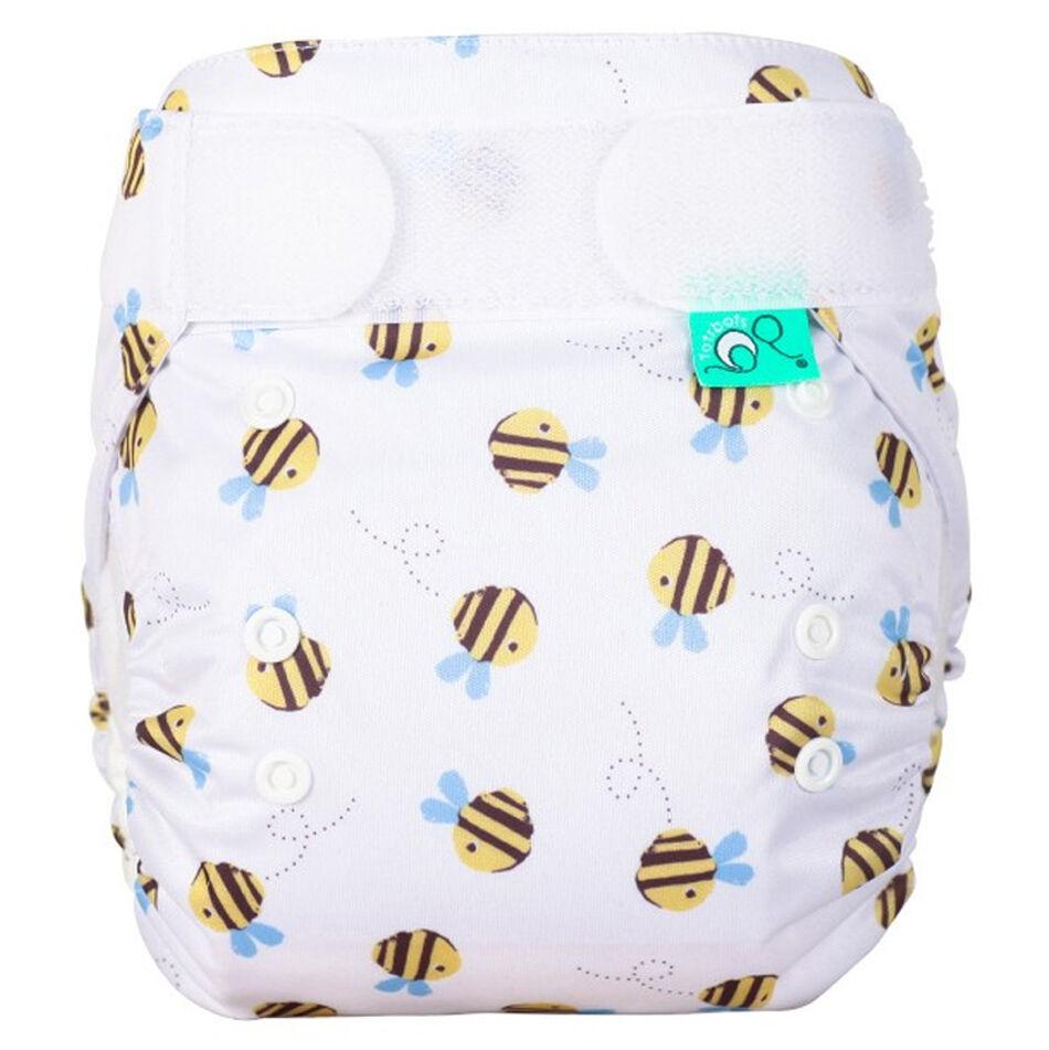TOTS BOTS Couche lavable TE1 -  EASYFIT - Taille Unique (3.5-15kg) - Buzzy Bees - TOTS BOTS