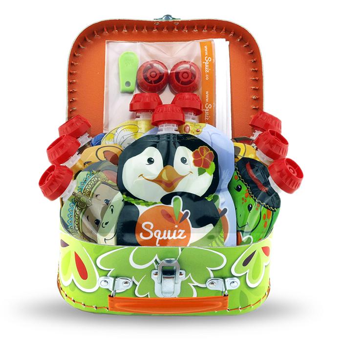 SQUIZ Valisette cadeau Jungle - SQUIZ
