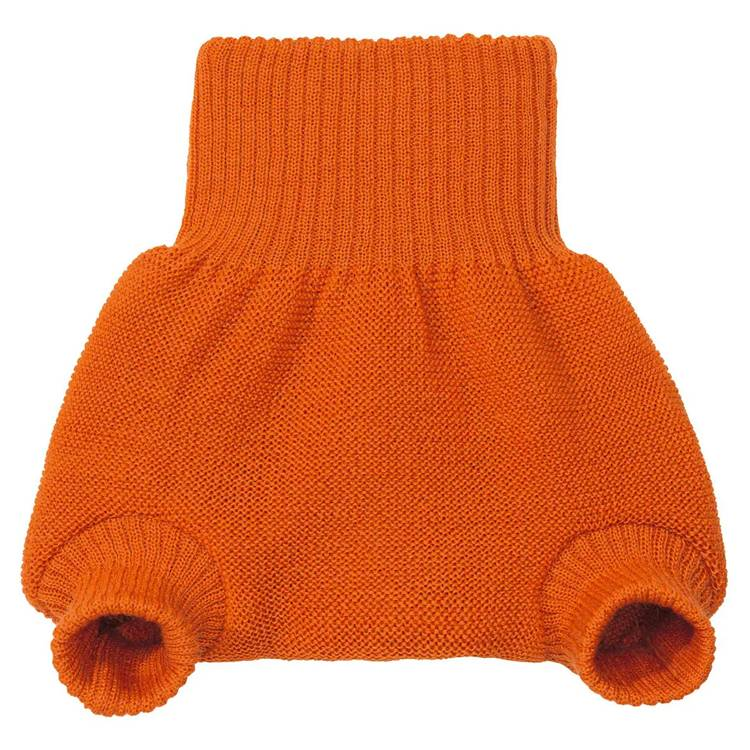 DISANA Culotte de protection orange en laine Mérinos 12-24 mois - DISANA