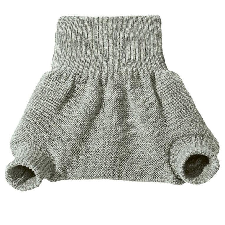 DISANA Culotte de protection grise en laine Mérinos 6-12 mois - DISANA