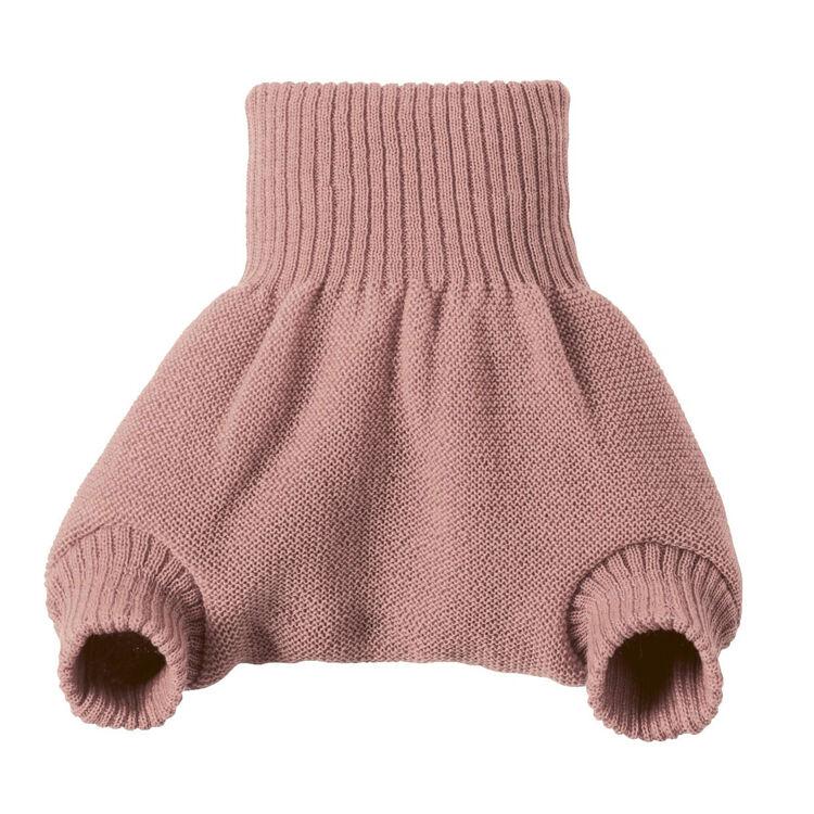 DISANA Culotte de protection rose en laine Mérinos 2-3 ans - DISANA