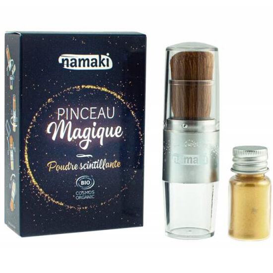 NAMAKI Poudre scintillante dorée et son pinceau magique - NAMAKI