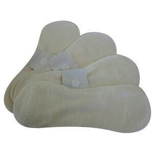 LULU NATURE Lot de 4 Protège-slips Coton Bio - LULU NATURE - Publicité