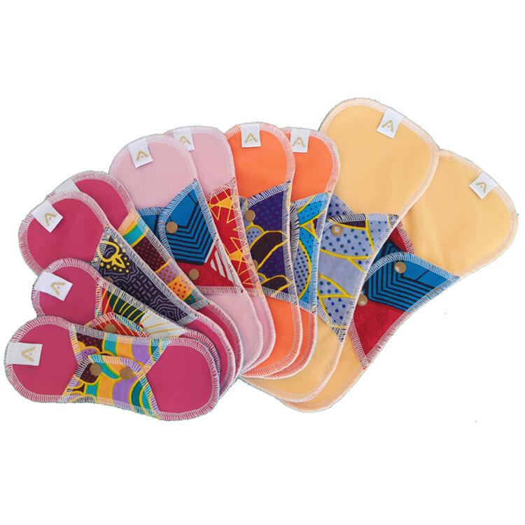 APIAFRIQUE Kit Confort Serviettes hygiéniques lavables - APIAFRIQUE