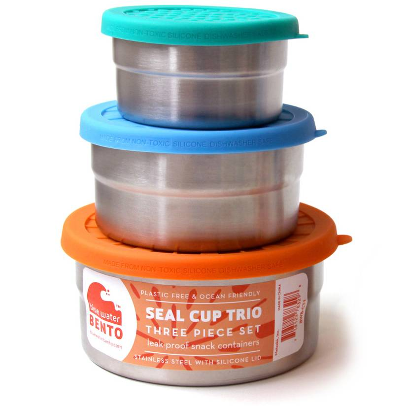 ECOLUNCHBOX Lunch Box Seal cup trio - ECOLUNCHBOX