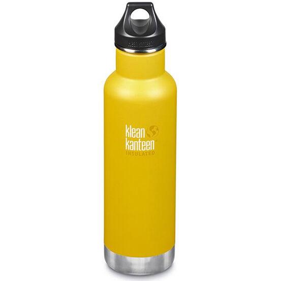 KLEAN KANTEEN Gourde Inox isotherme 592 ml Lemon Curry bouchon classique - KLEAN KANTEEN