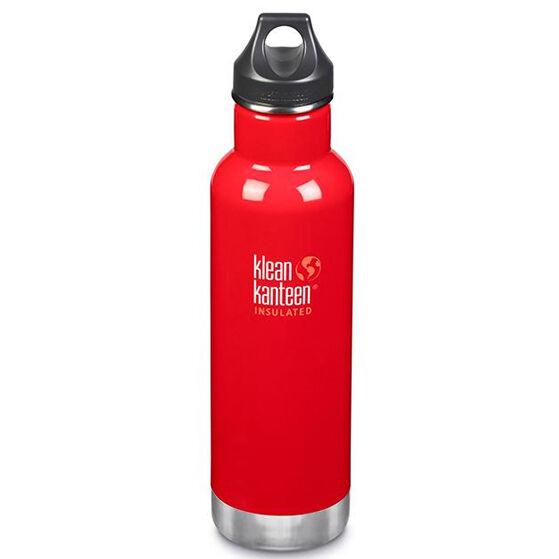 KLEAN KANTEEN Gourde Inox isotherme 592 ml Mineral Red bouchon classique - KLEAN KANTEEN