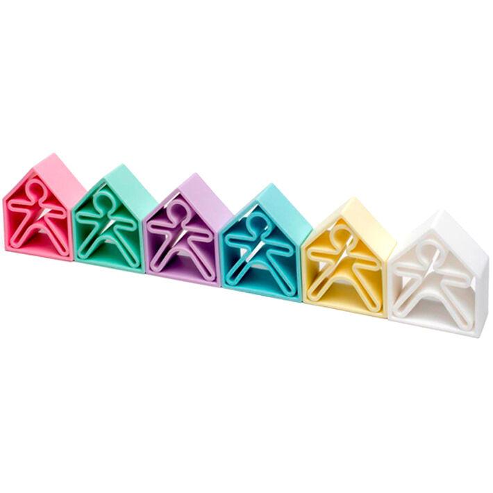 DENA Set de jeux 12 pièces en silicone Pastel - DENA