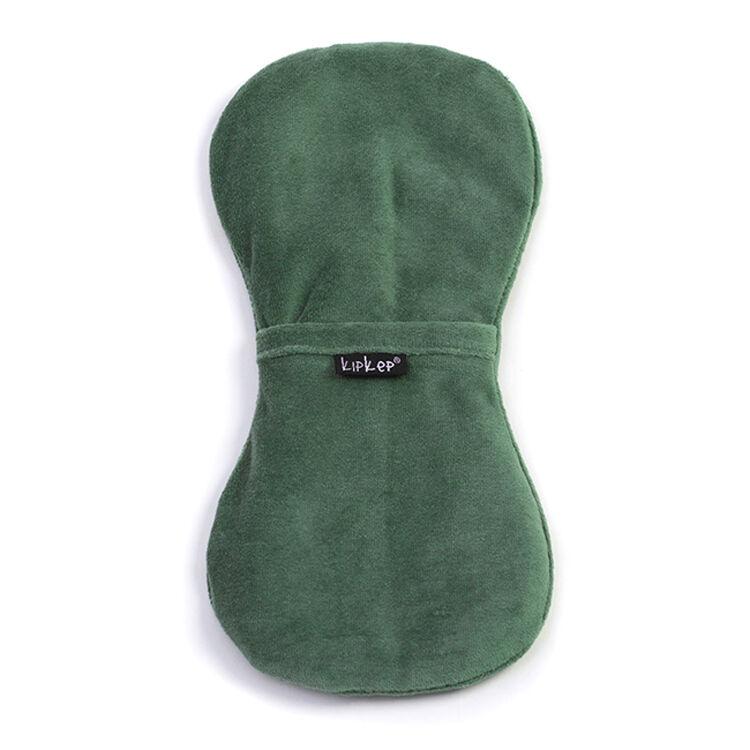 KIPKEP Bouillotte sèche déhoussable aux graines de lin - Calming Green - KIPKEP