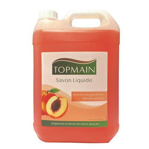 Manutan Recharge Savon Liquide Topmain - Bidon 5 L
