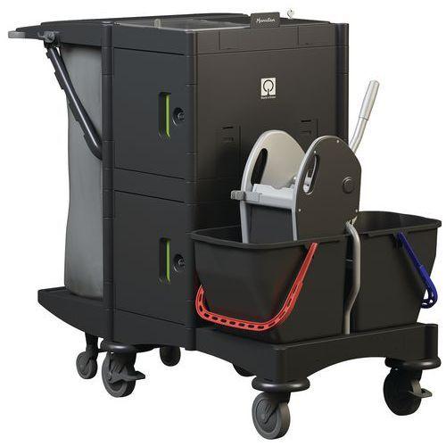 Manutan Chariot De Ménage Et De Lavage Avec Compartiments - Manutan
