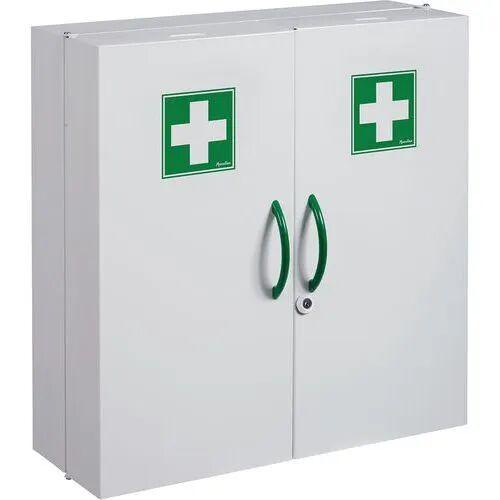 Manutan Armoire À Pharmacie 2 Portes Économique - Manutan